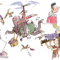 QUENTIN BLAKE DRAWING & INTERVIEW