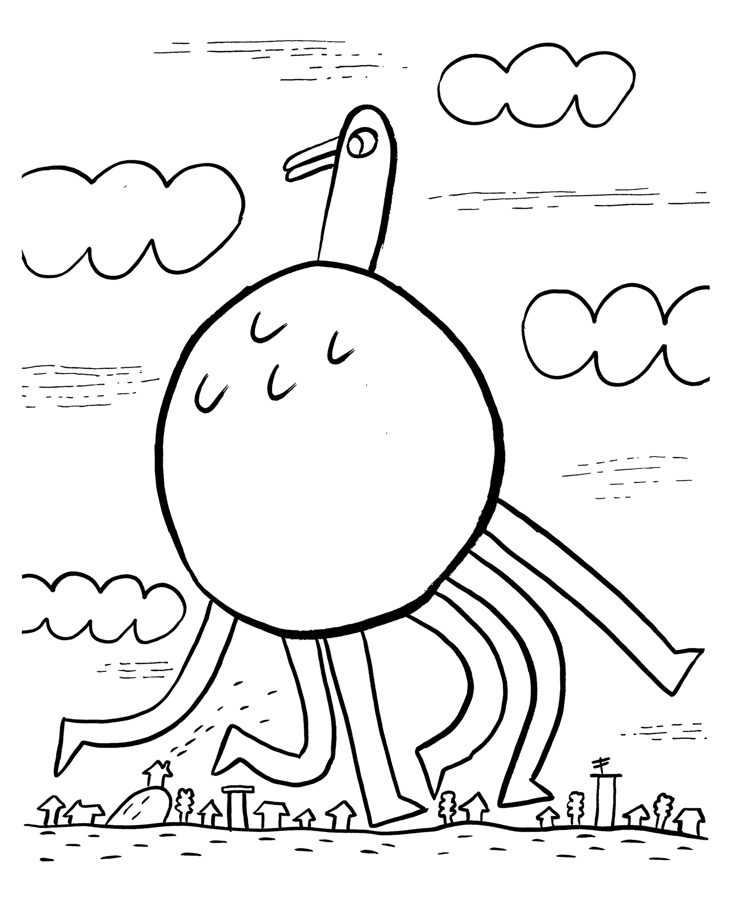 Images of coloring book pages