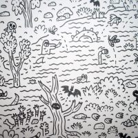WHERE'S BIGFOOT? (DRAWING)