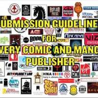 COMICS AND MANGA PUBLISHERS' SUBMISSION GUIDELINES