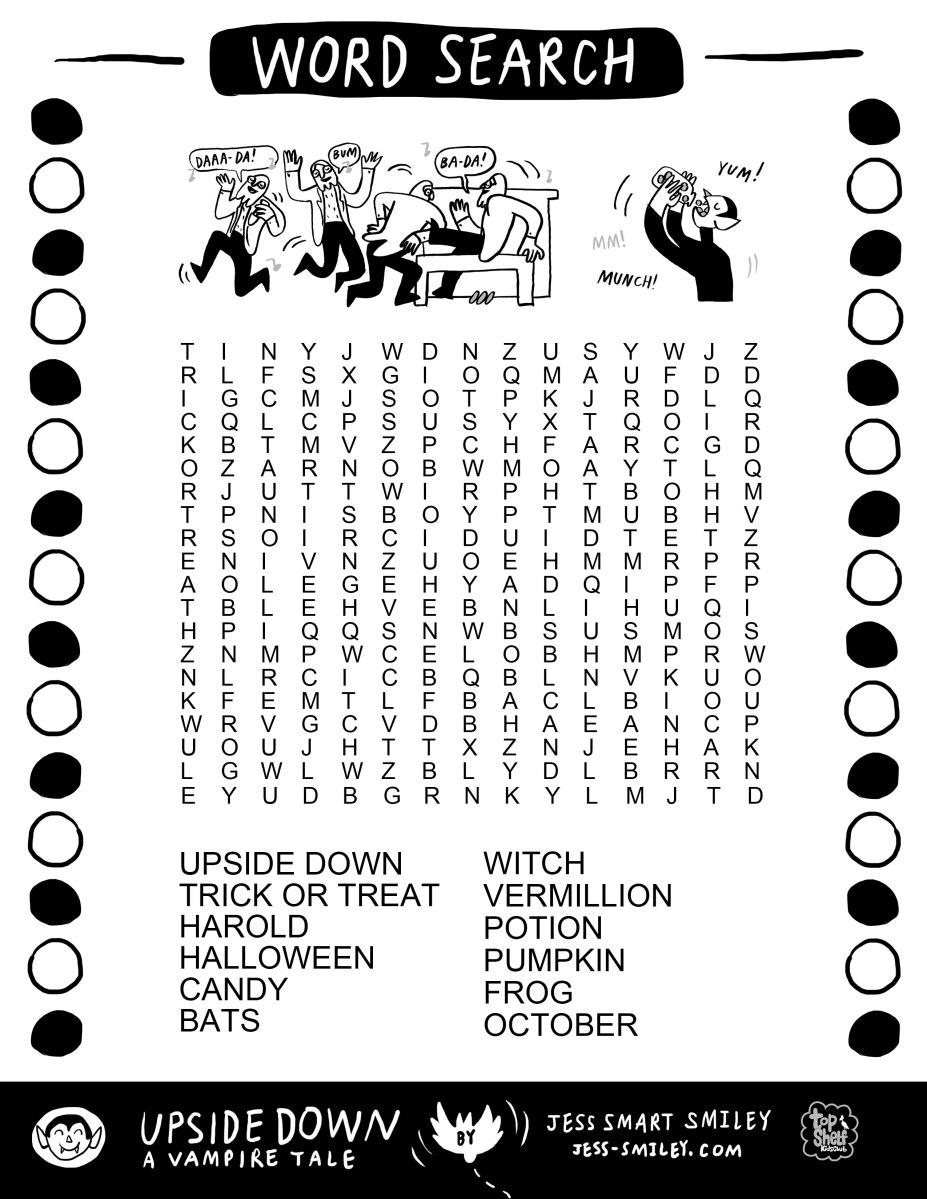 Happy October Free Halloween Activity Page Jess Smart