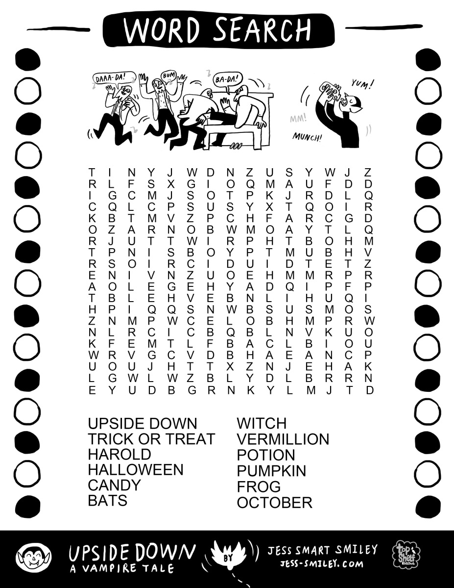Happy October / Free Halloween Activity Page