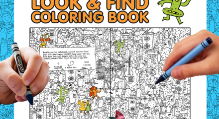 LAST CHANCE MONSTER COLORING BOOK